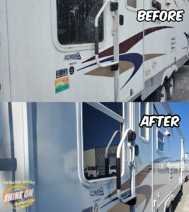 RV 4 Before and After SHINE ON Application