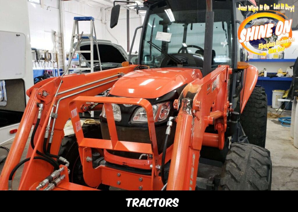 SHINE ON Fiberglass Restoration Tractors