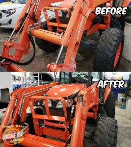 Tractor2 Before and After SHINE ON Application