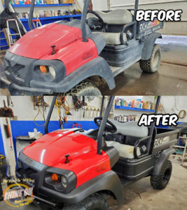 UTV Before and After SHINE ON Application
